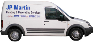 Contact JP Martin Painting, Decorating on 01325 730384